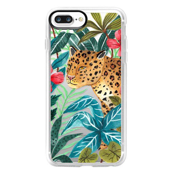iPhone 7 Plus Cases - Wild Leopard