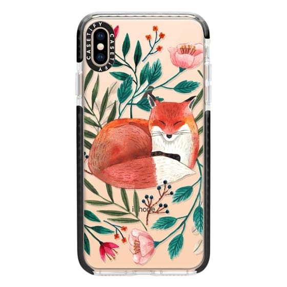 iPhone XS Max Cases - Sleepy Fox