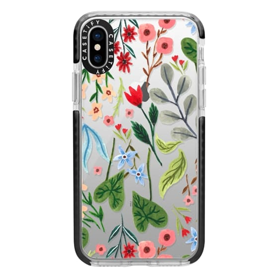 iPhone XS Cases - Little Blooming
