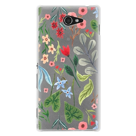Sony M2 Cases - Little Blooming