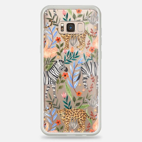 Galaxy S8+ Hülle - Moody Jungle