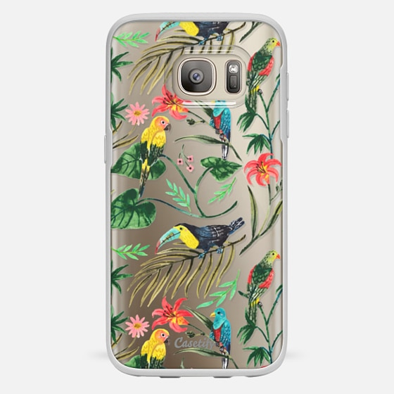 Galaxy S7 Case - Tropical Birds