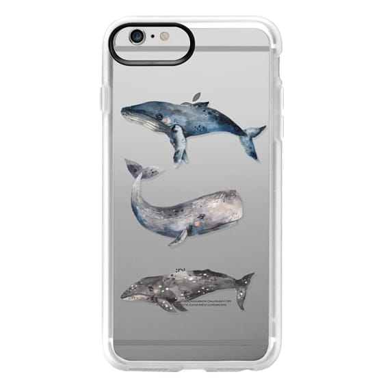 iPhone 6 Plus Cases - Whale