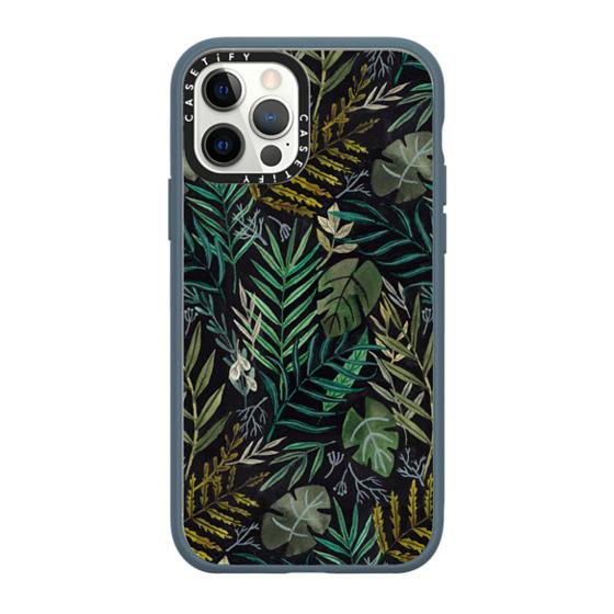 CASETiFY iPhone 12 Pro Impact Case - Night Foliage