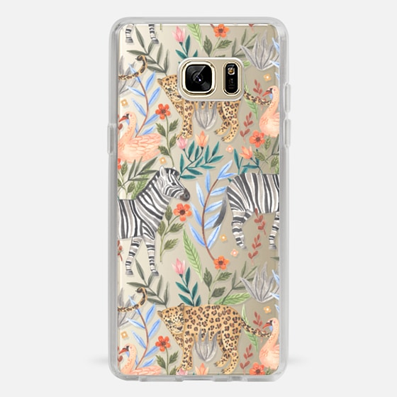 Galaxy Note 7 Case - Moody Jungle