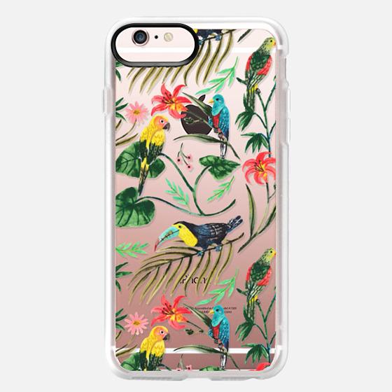 iPhone 6s Plus Hülle - Tropical Birds