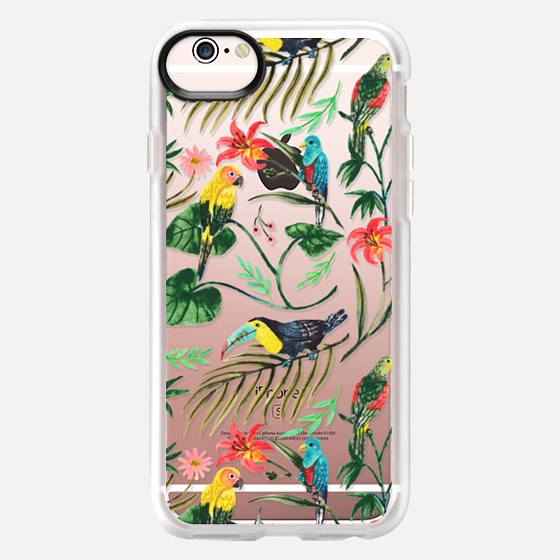 iPhone 6s Case - Tropical Birds