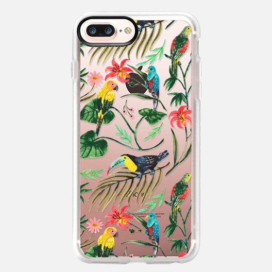 iPhone 7 Plus Hülle - Tropical Birds