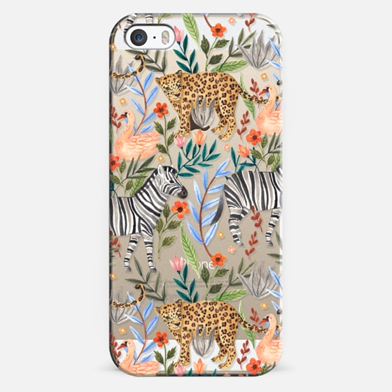 iPhone 5s Case - Moody Jungle