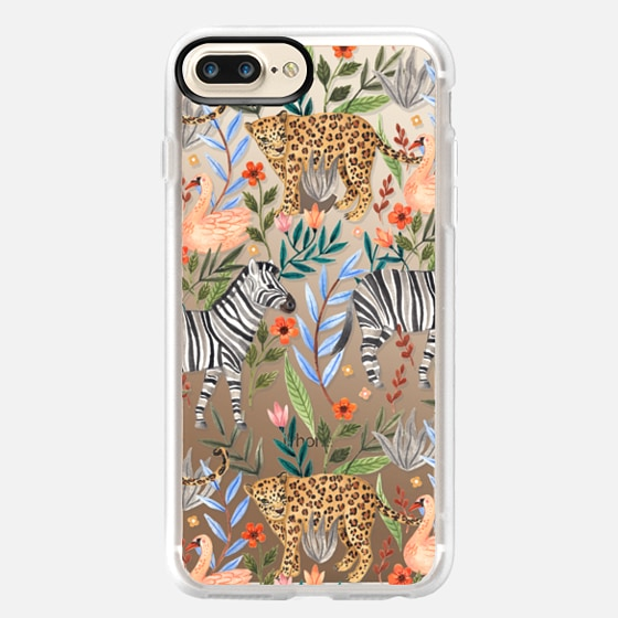 iPhone 7 Plus Hülle - Moody Jungle