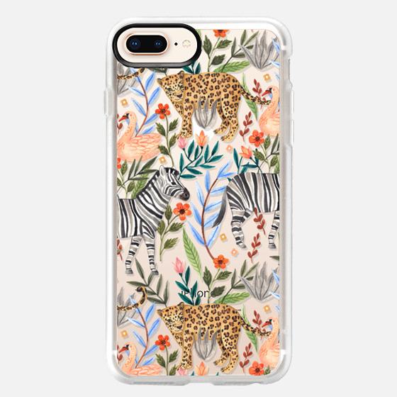 iPhone 8 Plus 保護殼 - Moody Jungle