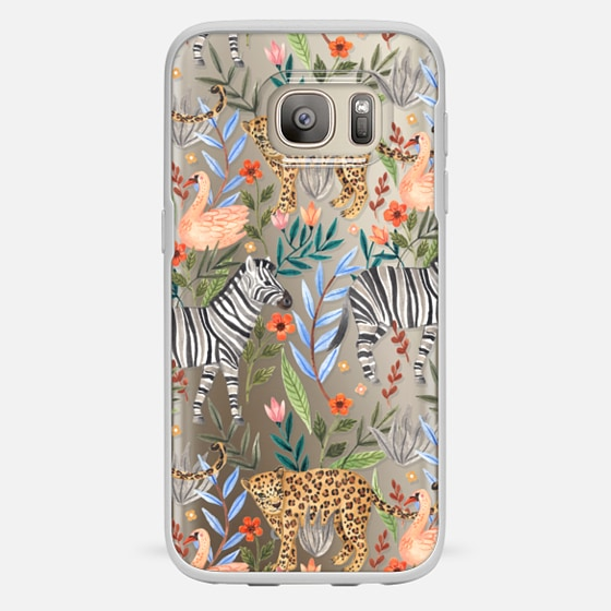 Galaxy S7 Hülle - Moody Jungle