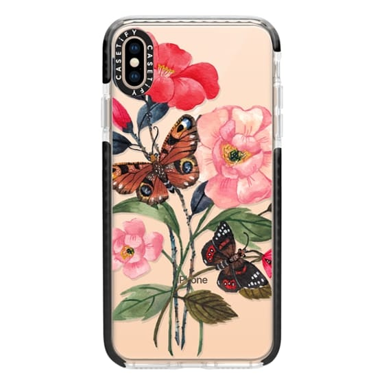 iPhone XS Max Cases - Floral&Butterfly