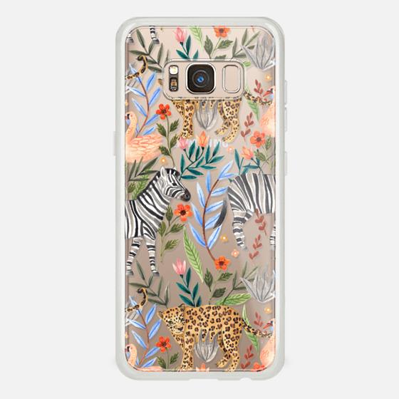 Galaxy S8 Capa - Moody Jungle
