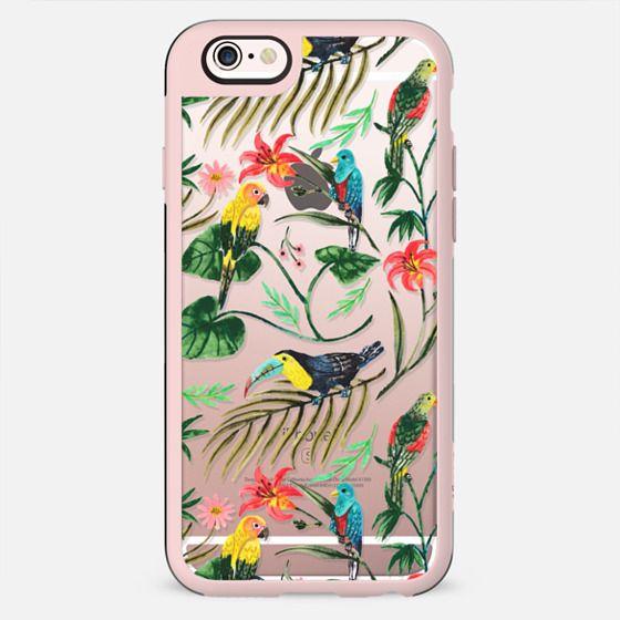Tropical Birds - เคส Classic Grip