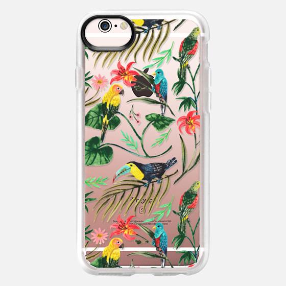 iPhone 6s 保護殼 - Tropical Birds
