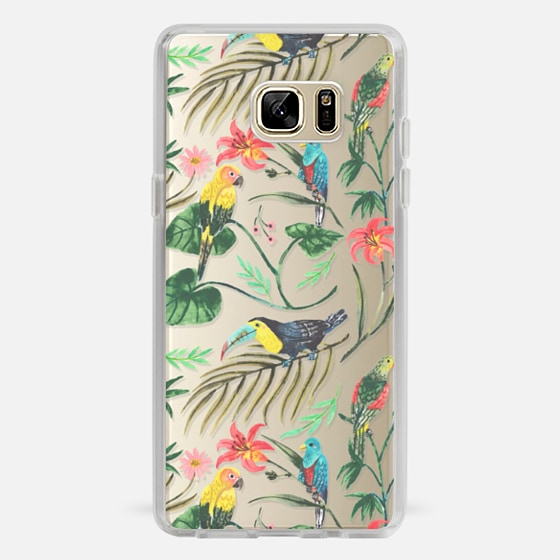 Galaxy Note 7 Case - Tropical Birds