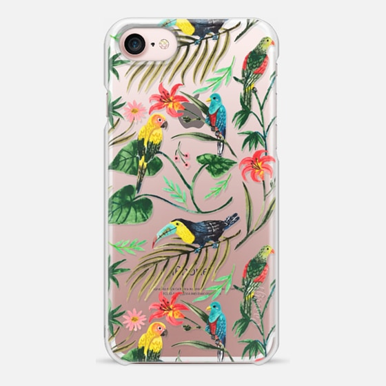 iPhone 7 ケース - Tropical Birds