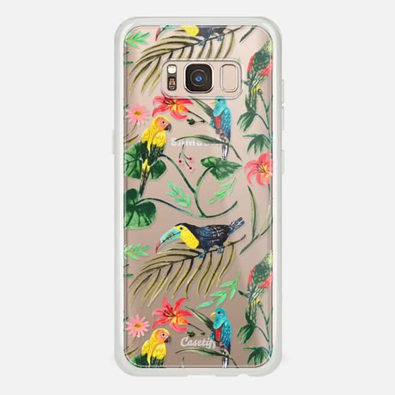 Galaxy S8 Funda - Tropical Birds