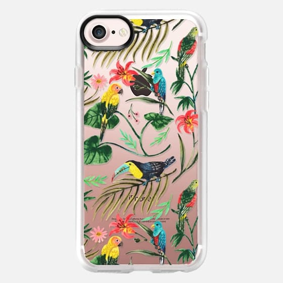 Tropical Birds - Snap Case
