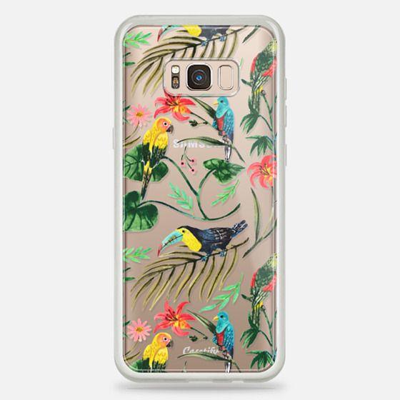 Galaxy S8+ Case - Tropical Birds
