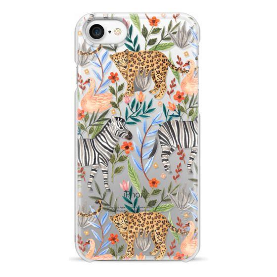 iPhone 7 保護殼 - Moody Jungle