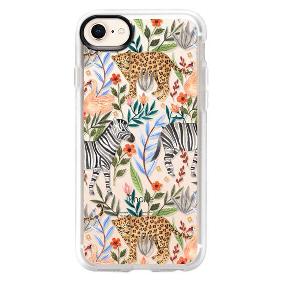 iPhone 8 เคส - Moody Jungle