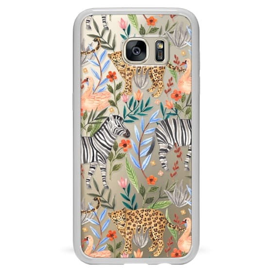 Galaxy S7 Edge Case - Moody Jungle