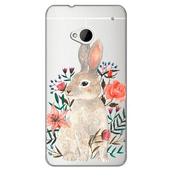 Htc One Cases - Rabbit