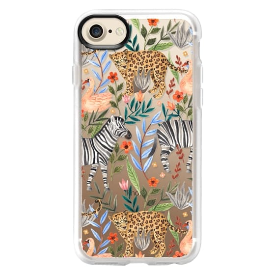 iPhone X Cases - Moody Jungle