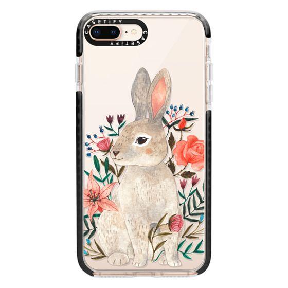iPhone 8 Plus Cases - Rabbit