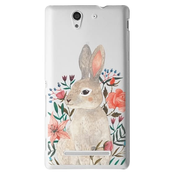 Sony C3 Cases - Rabbit
