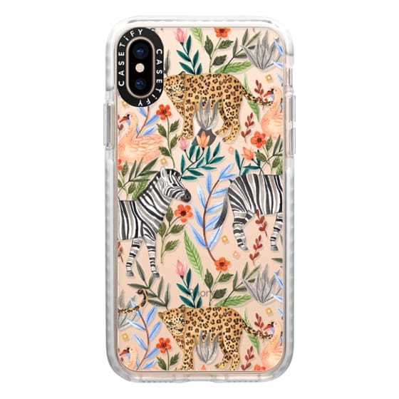 iPhone XS Cases - Moody Jungle