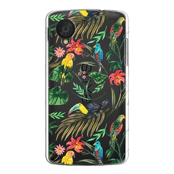 Nexus 5 Cases - Tropical Birds