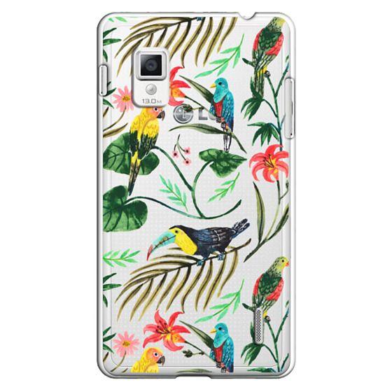 Optimus G Cases - Tropical Birds