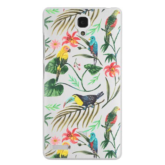 Redmi Note Cases - Tropical Birds