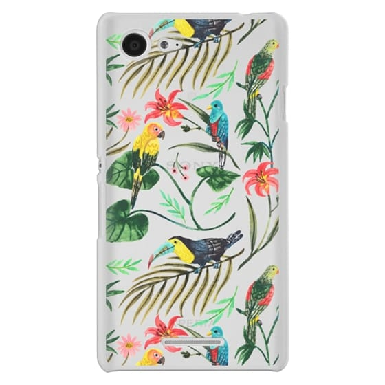 Sony E3 Cases - Tropical Birds