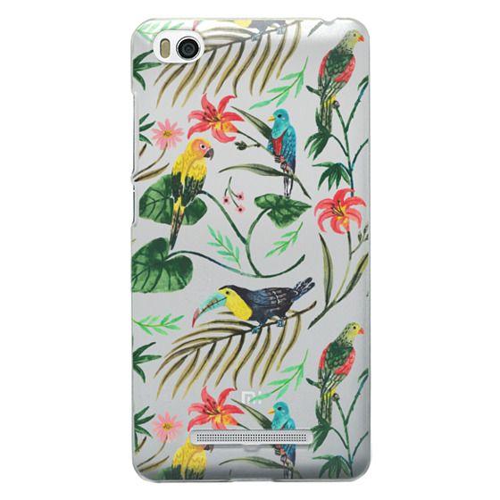 Xiaomi 4i Cases - Tropical Birds