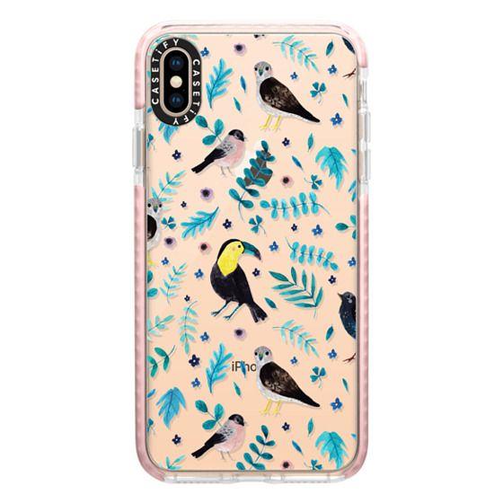 iPhone XS Max Cases - Blue Bird