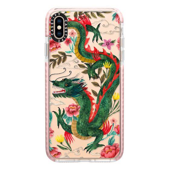 iPhone XS Max Cases - Dragon