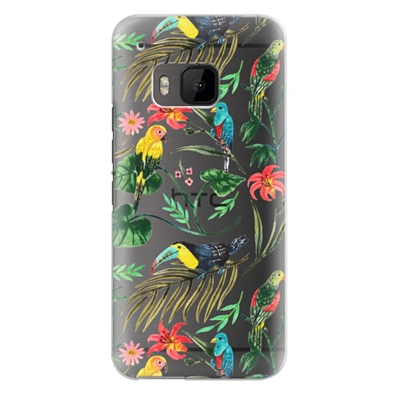 Htc One M9 Cases - Tropical Birds