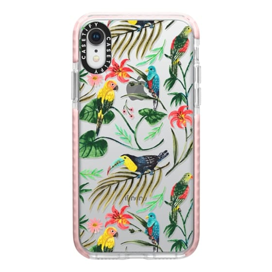 iPhone XR Cases - Tropical Birds