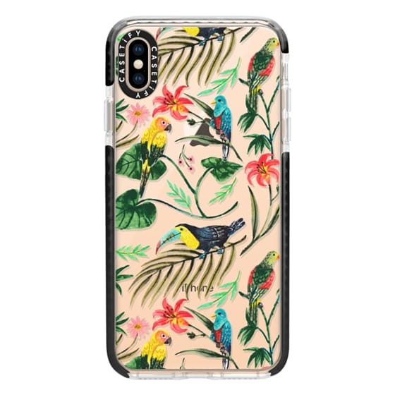 iPhone XS Max Cases - Tropical Birds