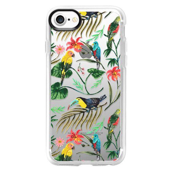 iPhone 4 Cases - Tropical Birds