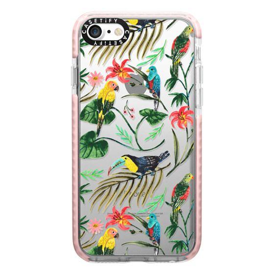 iPhone 7 Cases - Tropical Birds