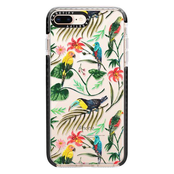iPhone 8 Plus Cases - Tropical Birds