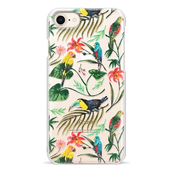 iPhone 8 Cases - Tropical Birds