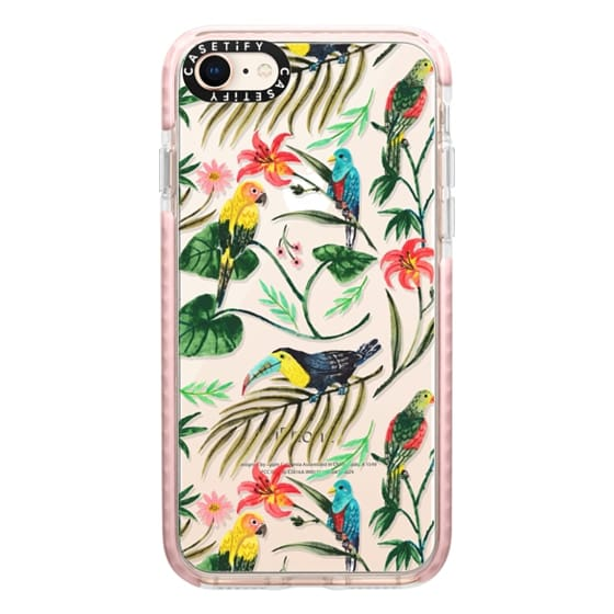 iPhone 8 Cases - Tropical Birds