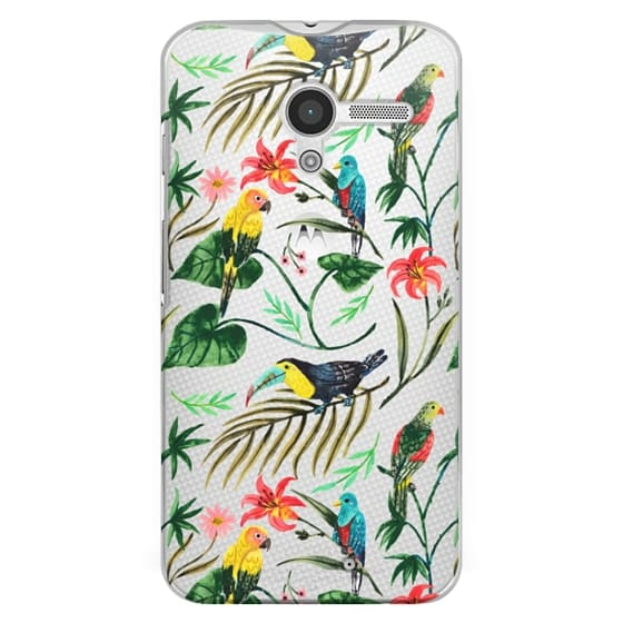 Moto X Cases - Tropical Birds