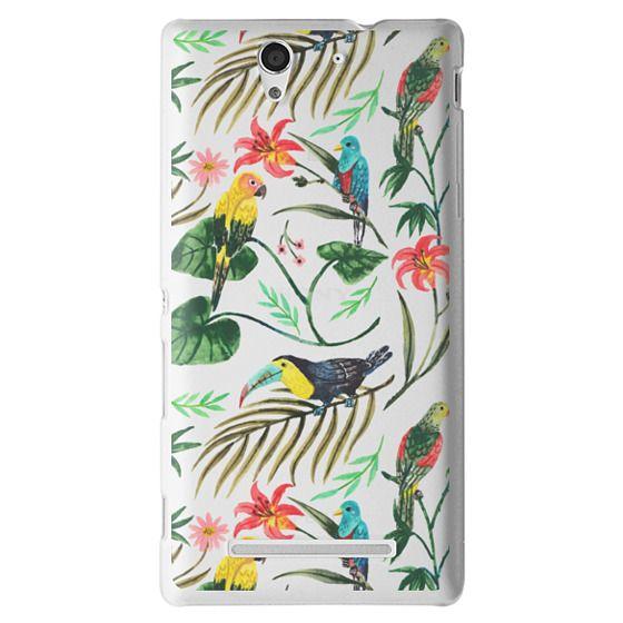 Sony C3 Cases - Tropical Birds